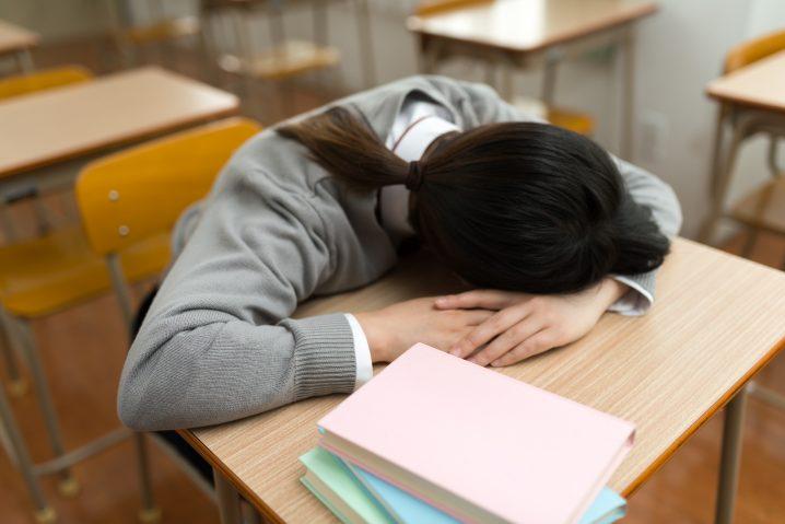 受験生時代の睡眠時間ってどれくらい?