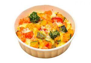 1日の緑黄色野菜が取れるグラタン