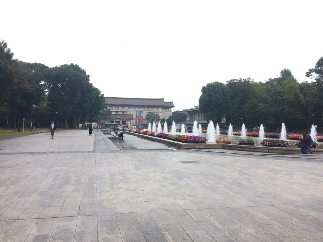 上野公園 噴水