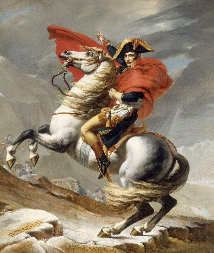 画像引用:ナポレオン・ボナパルト - GATAG|フリー絵画・版画素材集