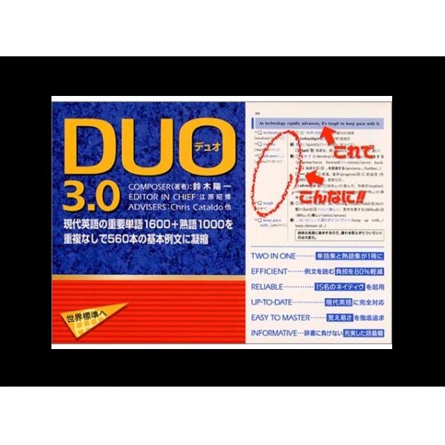 DUO3.0を使った英単語の効果的な覚え方