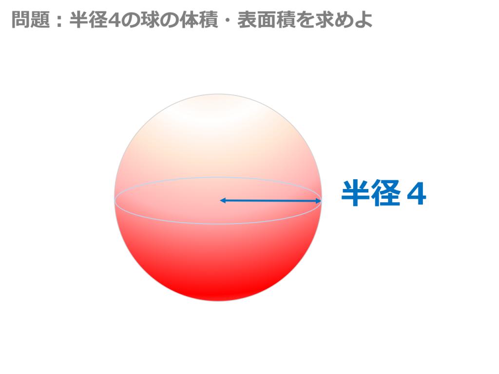 【3分で分かる!】球の体積と表面積の公式・覚え方