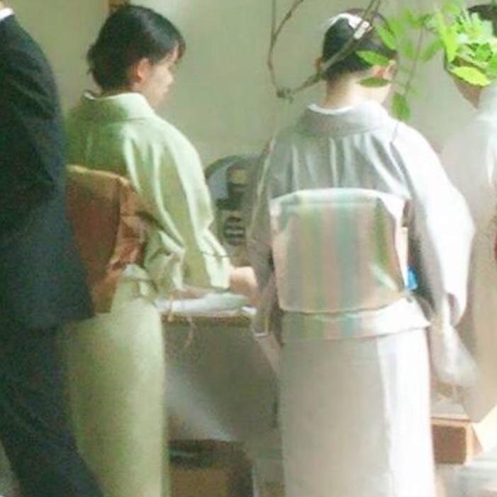 高校時代茶道部に所属していたK.Tさん。大学でも茶道を続けているそうです!